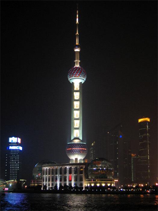 上海タワー(東方明珠電視塔)