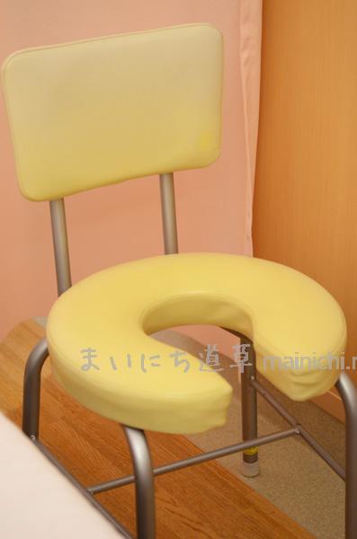 安心して座れる椅子