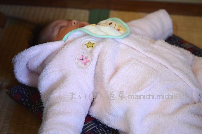 生後2ヶ月の次女